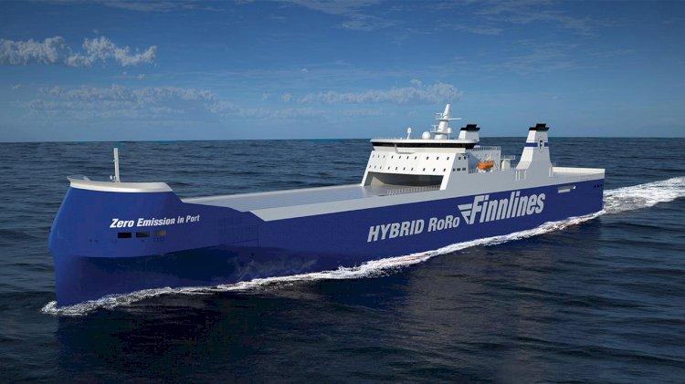 Finnlines begins construction of hybrid ro-ro