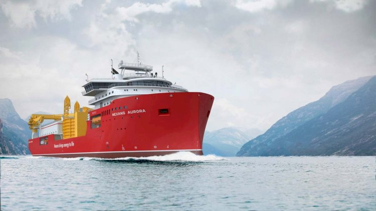 Outfitting of the Nexans Aurora starts at Ulstein Verft