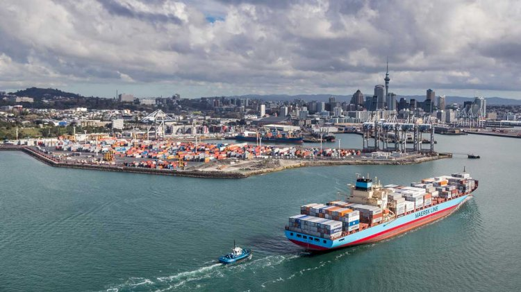 Auckland's port seeks consent for deeper channel