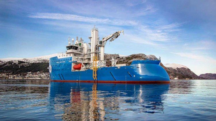 Delivery of Bernhard Schulte's next generation hybrid offshore wind vessel