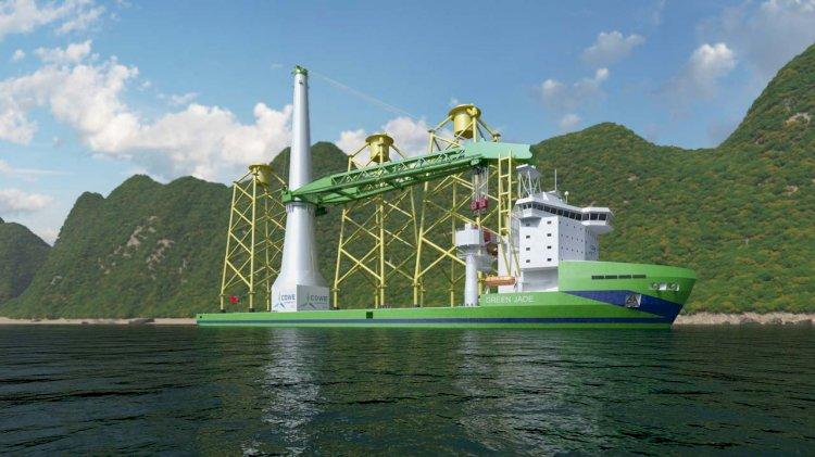 CDWE orders pioneering offshore wind installation vessel 'Green Jade'