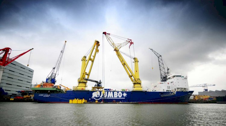 Alewijnse completes electrical conversion on board Jumbo Javelin