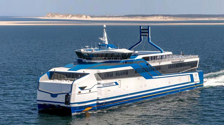 LNG Ferries designed by BMT Complete Sea Trials