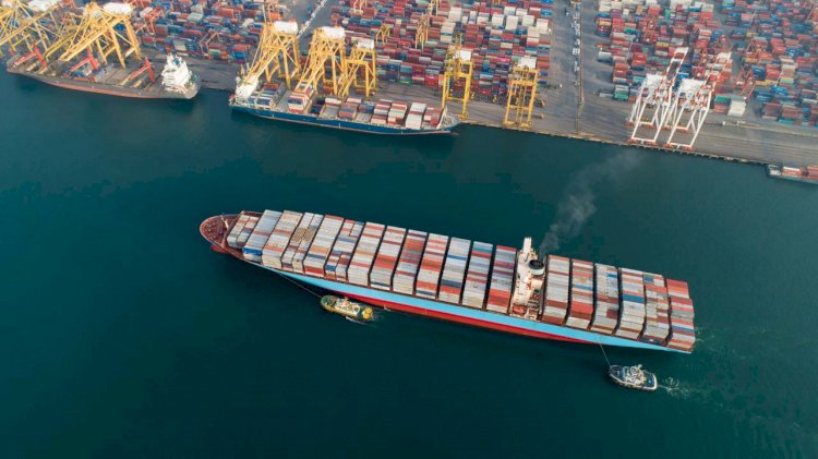 Report: High volume vessel calls as a result of blank sailings put pressure on port operations