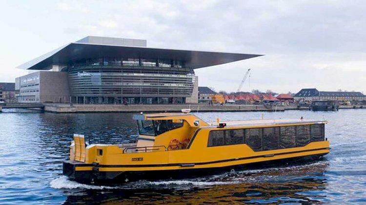 Damen delivers five zero emissions propulsion ferries to Arriva
