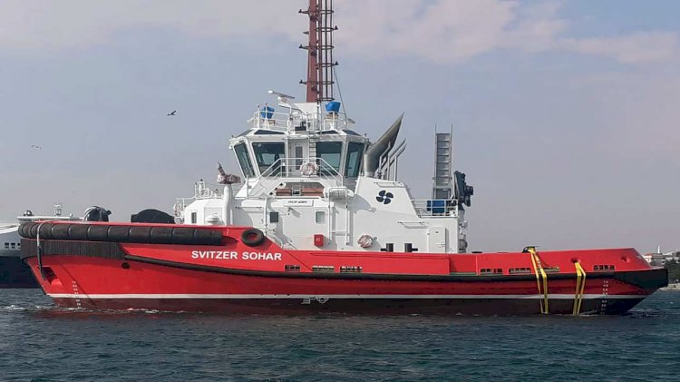 Sanmar deliveres the first of three new tugs for Svitzer Sohar