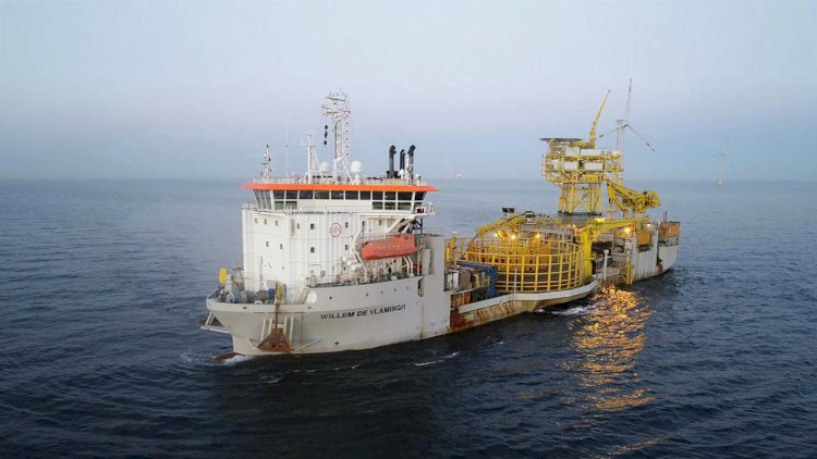 Offshore foundation installation starts at TPC Offshore Wind Farm in Taiwan