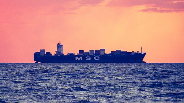 MSC PALAK container incident in South Africa