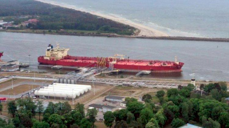 Klaipeda oil terminal records a jump in cruide oil handling