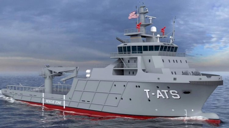 MacGregor to supply deck handling solutions for two T-ATS class vessels