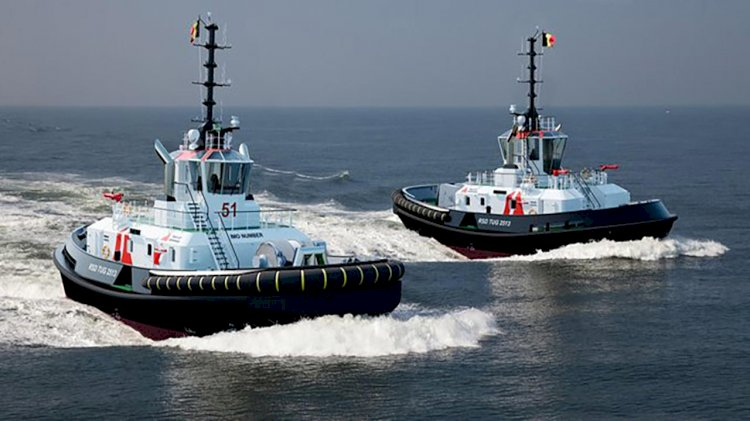 Damen to deliver two RSD Tugs 2513 for Port of Antwerp
