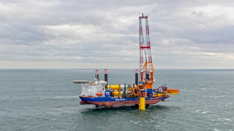 Van Oord awarded contract to construct Hollandse Kust offshore wind farm