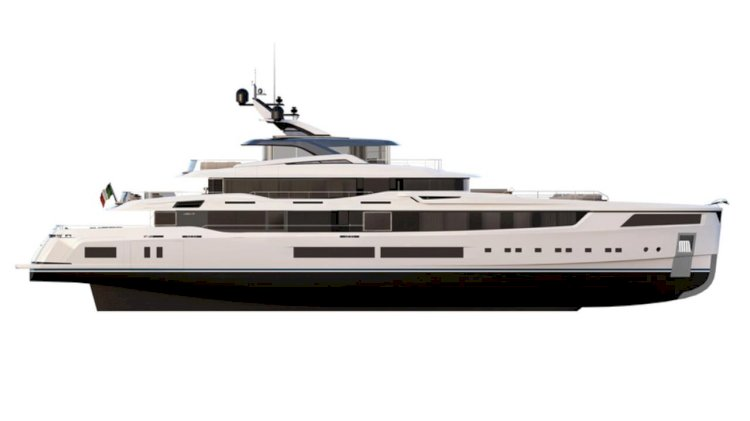 New Logica Yacht features powerful SCHOTTEL Pump Jet between rudders