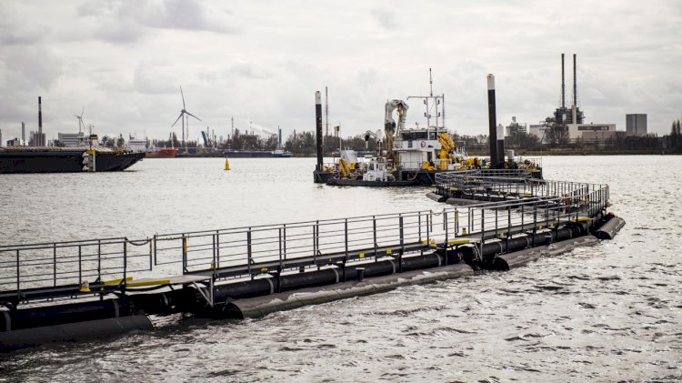 Port of Antwerp: the solution to the ecological problem is finally found