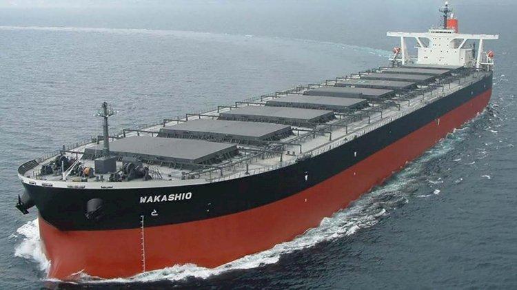 """Capesize bulker """"Wakashio"""" aground off Mauritius"""