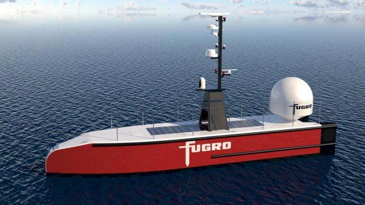 Fugro has ordered two 12m SEA-KIT X class USVs