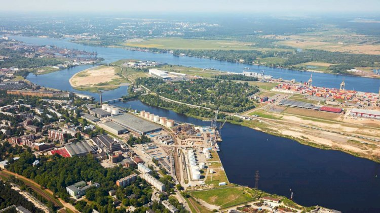 New transport connection between Kundziņsala and Port of Riga