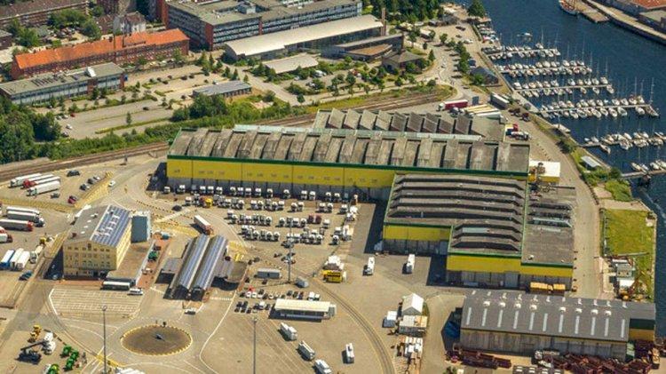 Port of Kiel redesigned the port apron in Ostuferhafen