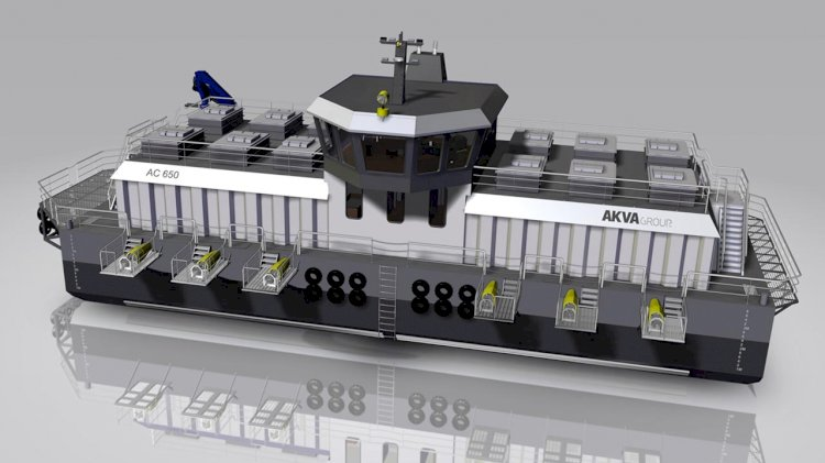 AKVA Group to supply new feed barge to Iceland