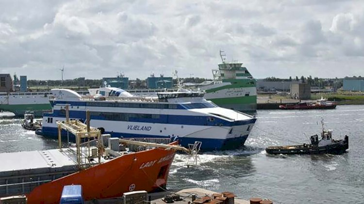 "DSHl has completed a repair project to Rederij Doeksen's ferry ""Vlieland"""
