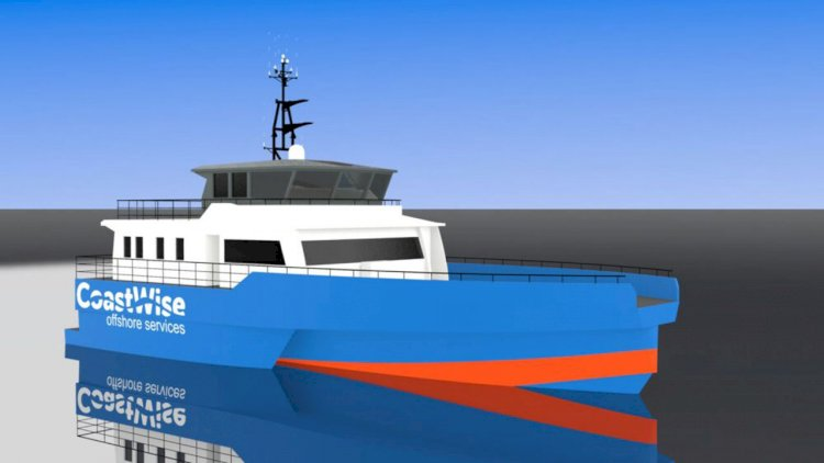 COS Master signs a contract for the building of a new type of vessel