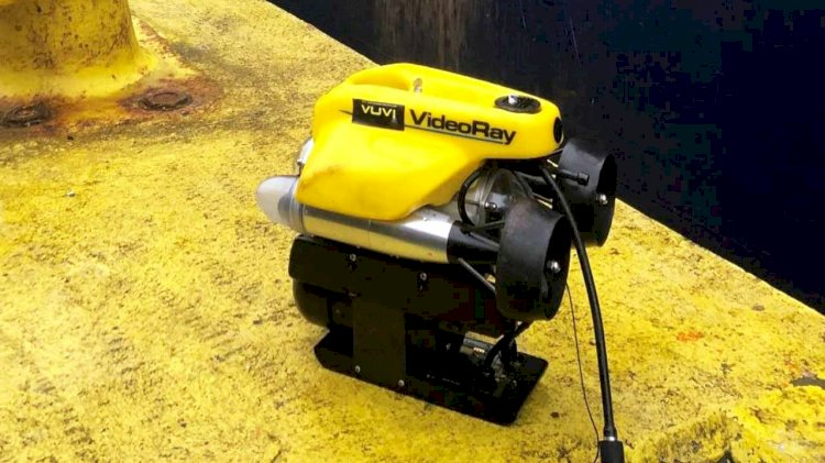 DNV GL's remote in-water ship surveys using ROV mark a world first
