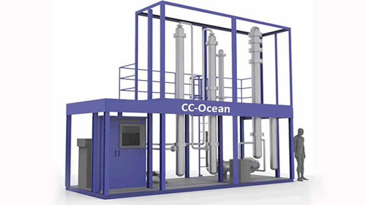 World's first small-scale CO2 capture plant on vessel
