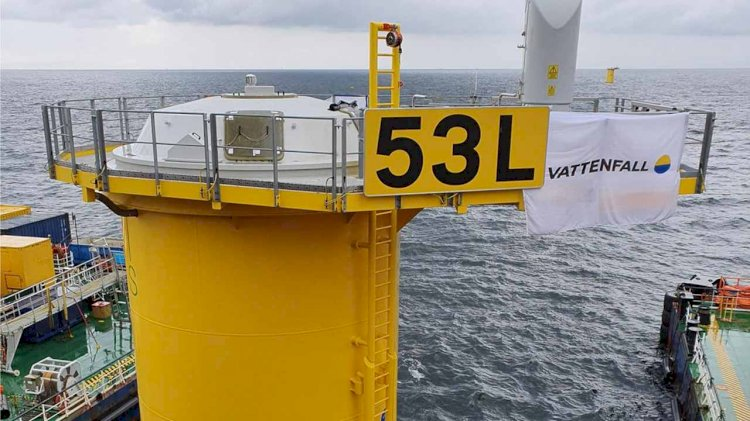 All foundations for Kriegers Flak Offshore Wind Farm installed successfully