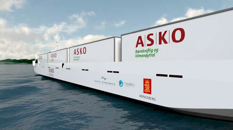 Kongsberg and Massterly to equip two zero-emission autonomous vessels for ASKO