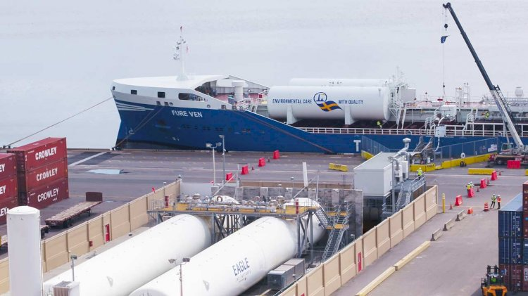 Furetank, Eagle LNG and GAC achieve historic LNG bunkering in the U.S.