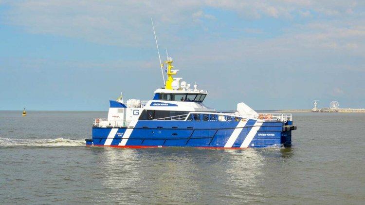 Damen delivers FCS 2710 'Green Waves' to Rederij Groen