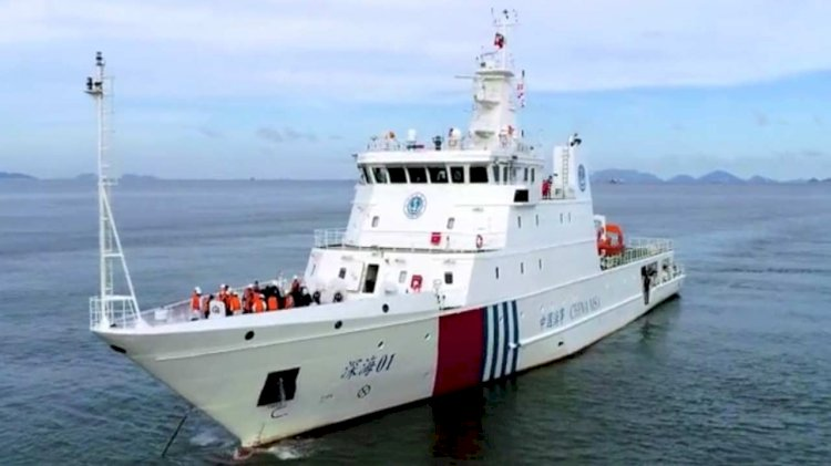China's first hybrid-electric rescue vessel relies on ABB technology for safety and sustainability