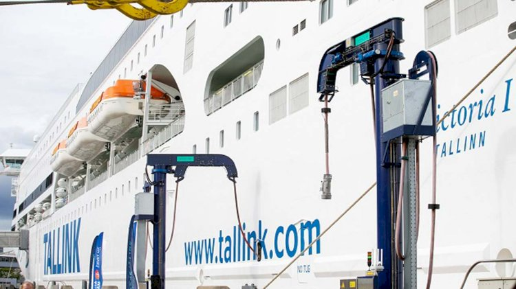 Port of Tallinn launches a new shore power solution