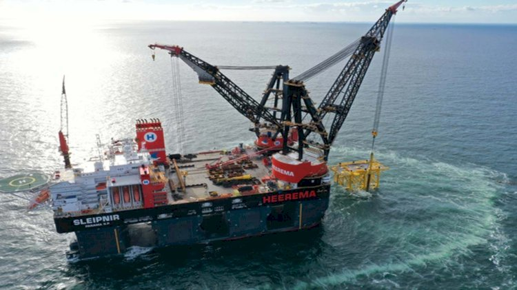 Heerema's Sleipnir completes first wind project