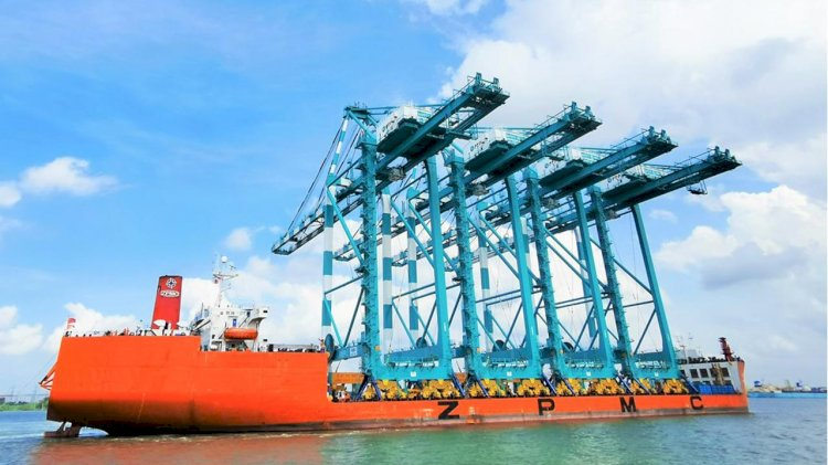PTP purchases four new STS quay cranes