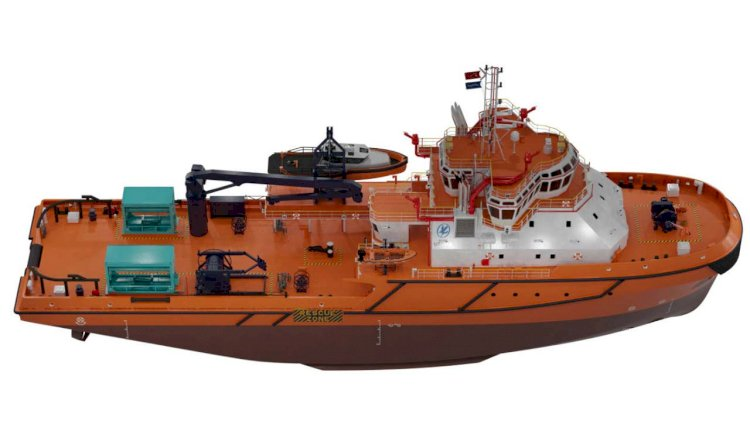Cathelco MGPS fitted on oil spill vessel
