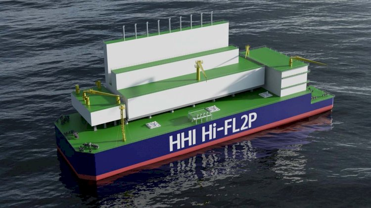 HHI granted Bureau Veritas AIP for Hyundai innovative Floating LNG to Power solution