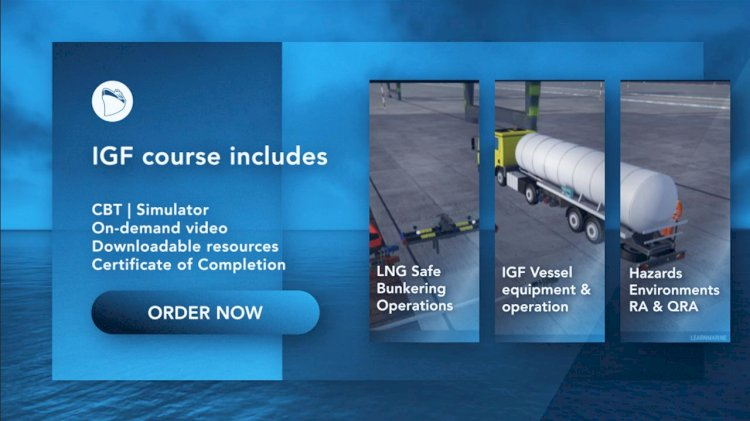 Learnmarine introduces IGF Code online and simulator training