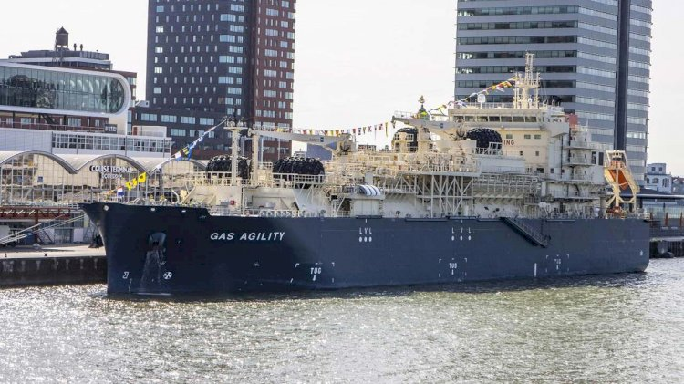 Total and MOL officially name the world's largest LNG bunker vessel