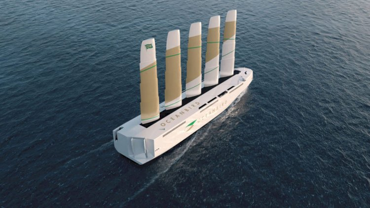 VIDEO: Wallenius Marine reveals the new design for the wind powered ship Oceanbird