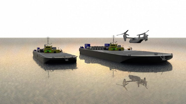 Sea Machines to prototype use of barges as autonomous military helipads