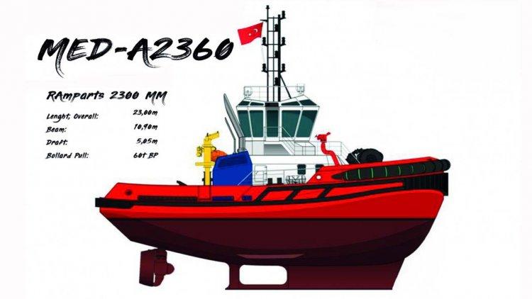 Svitzer chooses Med Marine exclusive design tug