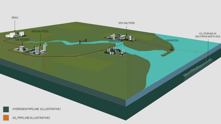 Equinor and partners progress plan for zero carbon industrial cluster in the UK