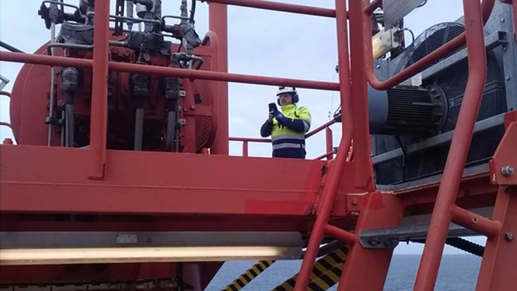 DNV GL and Aker BP successfully perform remote surveys of offshore cranes