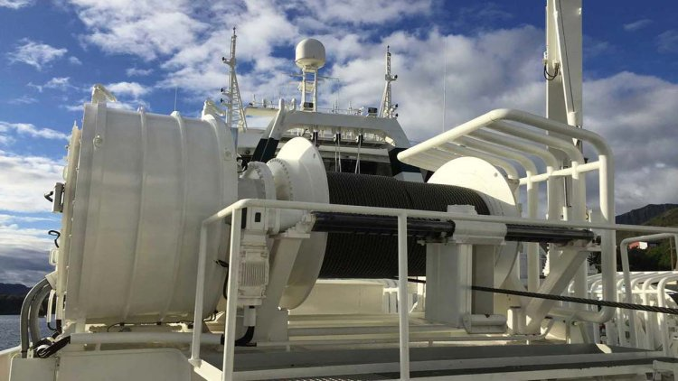 Kongsberg to deliver large electric winch package to new vessel for JFK