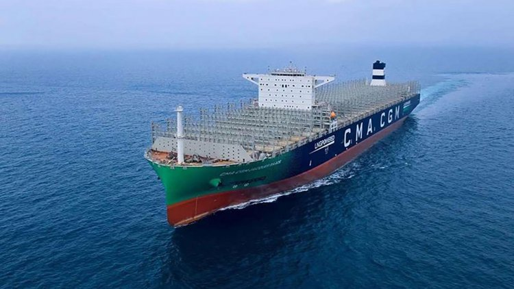The largest LNG-powered container ship ever built features Wärtsilä solutions
