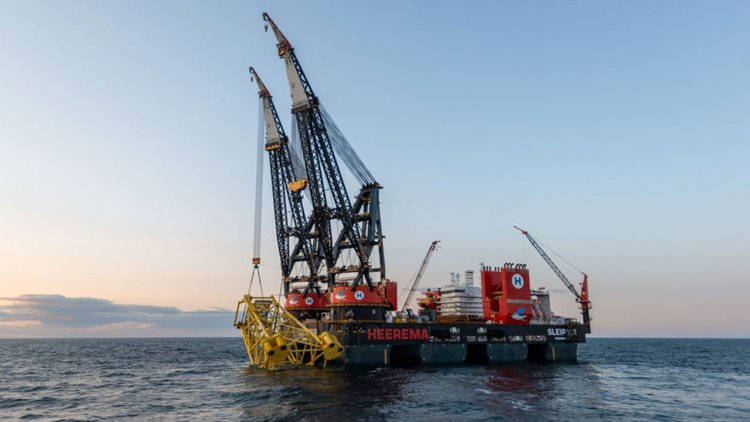 Heerema's Sleipnir installs 4,850 metric ton Tolmount Platform