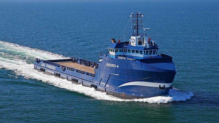 Harvey Gulf orders Wärtsilä Energy Storage for LNG-powered Supply Vessels