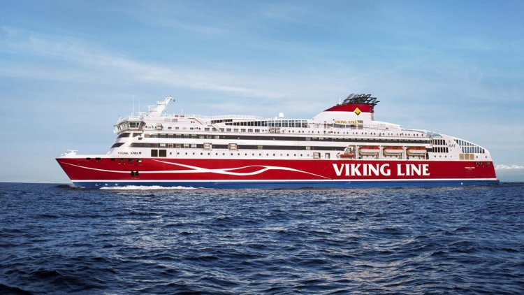 ABB delivers shore connection technology for Viking Line's high-speed ferry