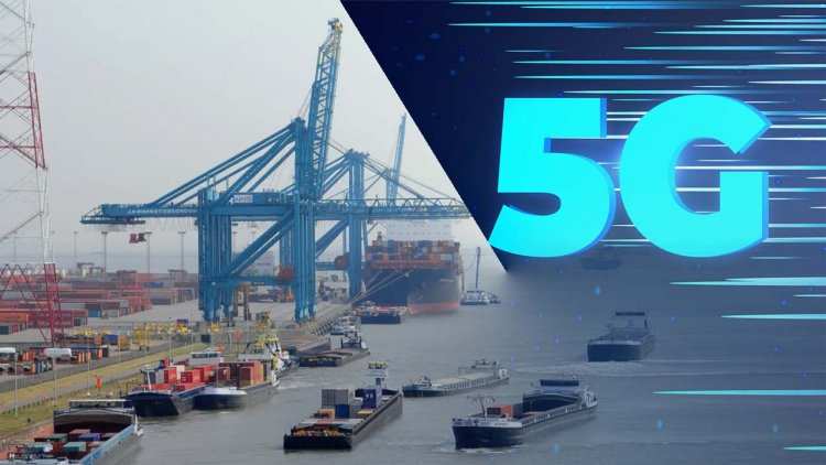 Port of Antwerp participates in developing a private 5G network